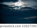 beautiful, full, moon 33027390