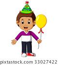 生日 男孩 卡通 33027422