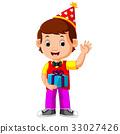 生日 男孩 卡通 33027426