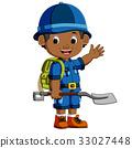 boy, cartoon, hiker 33027448