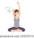 瑜伽 瑜珈 女性 33029710