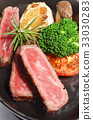 Rib eye steak 33030283