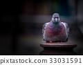 Art Pigeon closeup stand on pole 33031591