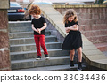 boy and girl shy on date 33034436