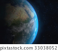 Realistic 3D Earth globe. Elements of this image 33038052