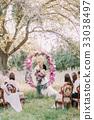 新郎 婚礼 花园 33038497