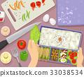 Hand Bento Meal Preparation 33038534