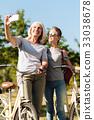 grandmother, granddaughter, selfie 33038678