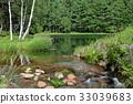 mishaka pond, nagano, japan 33039683
