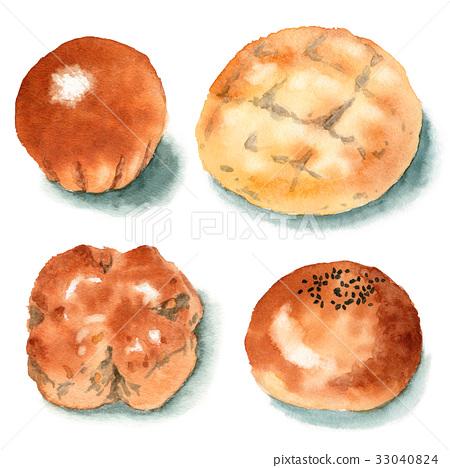 baker, watercolour, watercolors 33040824