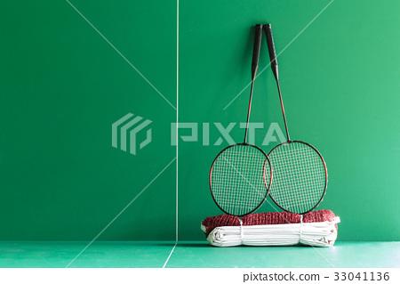 Badminton rackets,shutterclock  on the green  33041136