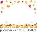 Autumn skyline 33045076