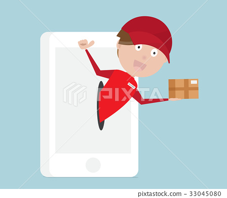 online shopping with fast delivery from mobile  33045080