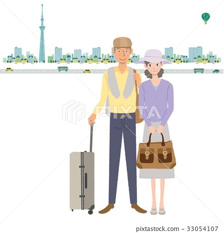 旅途 旅行 旅行者 33054107