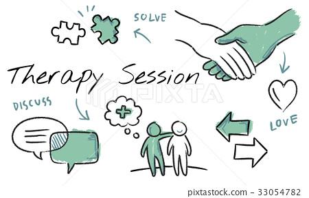 Mental health care sketch diagram 33054782
