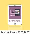 Music Audio Recreation Relaxation Entertainment Concept 33054827