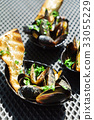 grilled mussels 33055229