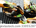 grilled mussels 33055287