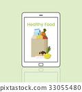 Buy Fresh Food Marketplace Supermarket Shopping Graphic 33055480