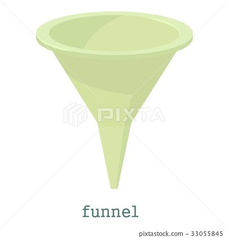 Funnel icon, cartoon style 33055845