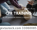 CPR Training Demonstration Class Emergency Life Rescue 33060085