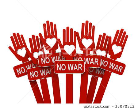Hands with No War 33070512