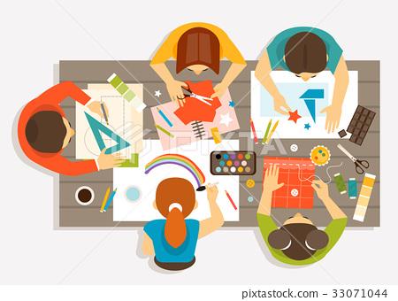 Creative workshop for children 33071044