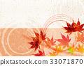 楓樹 紅楓 楓葉 33071870