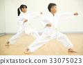 가라데를하는 아이 33075023