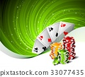 casino, illustration, gambling 33077435