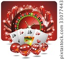 casino, illustration, gambling 33077443