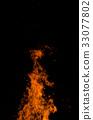 camp fire, flame, bonfire 33077802