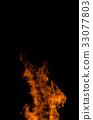 camp fire, flame, bonfire 33077803