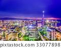 Fukuoka, Japan Skyline 33077898