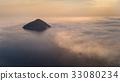 Kinira island in sunrise, Greece 33080234