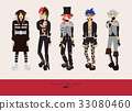 Lovely visual kei men. Different hairstyles 33080460
