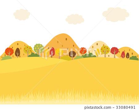 秋天的郊區 33080491