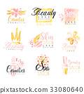 salon, logo, spa 33080640