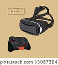 眼镜 虚拟 现实 33087394