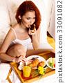 早餐 女人 女性 33091082