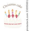 Christmas cake 33095601