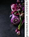 紫色 蔬菜 拼盘 33095867