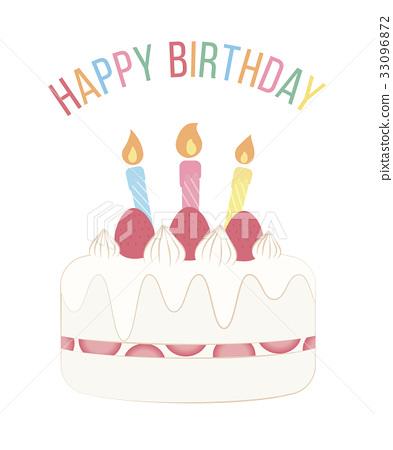 生日蛋糕 生日卡 生日 33096872