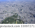 tokyo, imperial palace, aerial 33097271