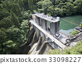 水坝 蓄水池 堰塞湖 33098227