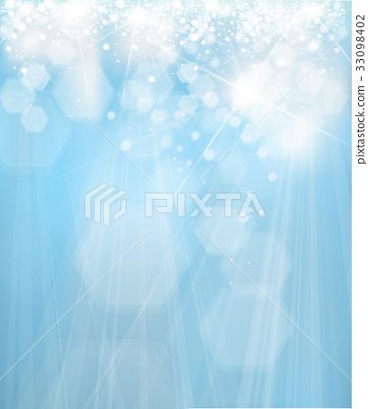Vector blue  lights background. 33098402