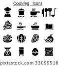 Cooking & Kitchen icons 33099516