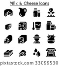 Milk & Cheese icons 33099530