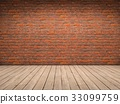 Brick and wood room 33099759