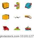 store, icon, cartoon 33101127